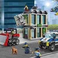 $49.99 LEGO 城市组系列City推土机抢银行 60140