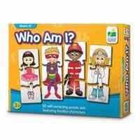 $7.49(原价$12.99) 我是谁?儿童益智拼图游戏